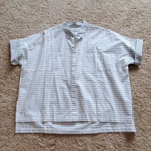 NWT! Madewell Button Up